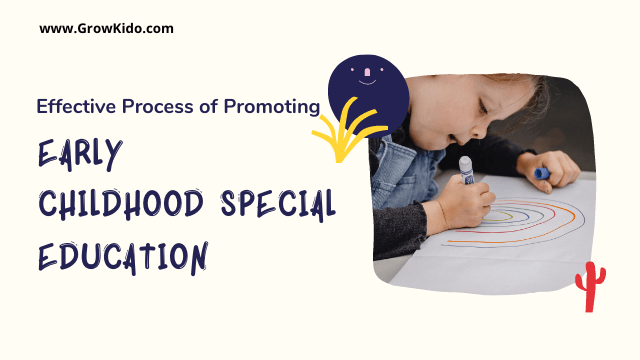 7 Effective Process of Promoting Early Childhood Special Education