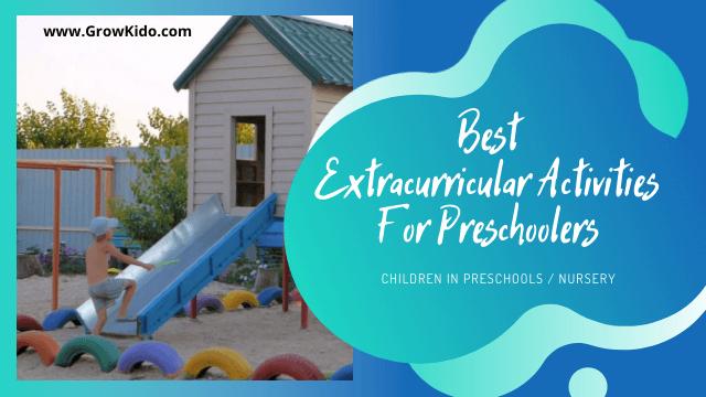 10 Best Extracurricular Activities For Preschoolers/ Nursery Kids