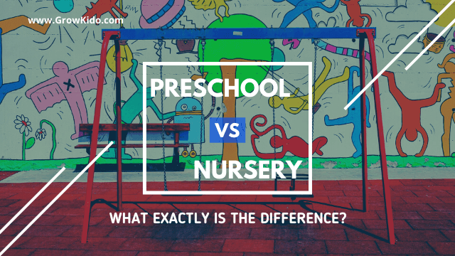 Preschool vs Nursery School in India – What Exactly is the Difference?
