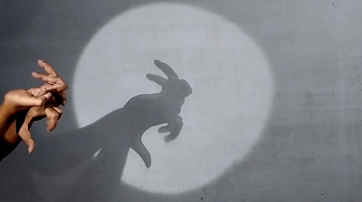 Fun Activities to do with Kids at Night Shadow puppet