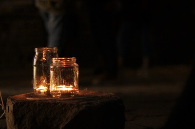 Night games for kids catching Fireflies