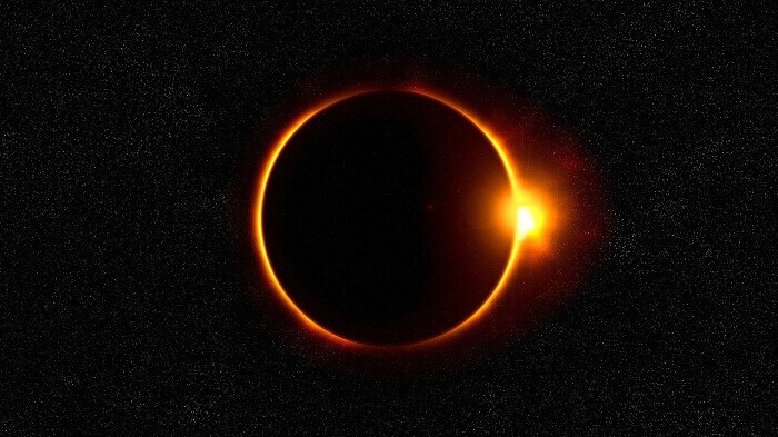 Annular Solar Eclipse Ring of Fire