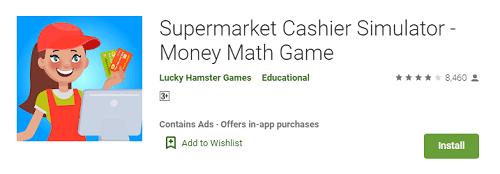 cashier games for girls