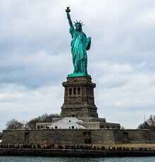 interesting facts about statue of liberty
