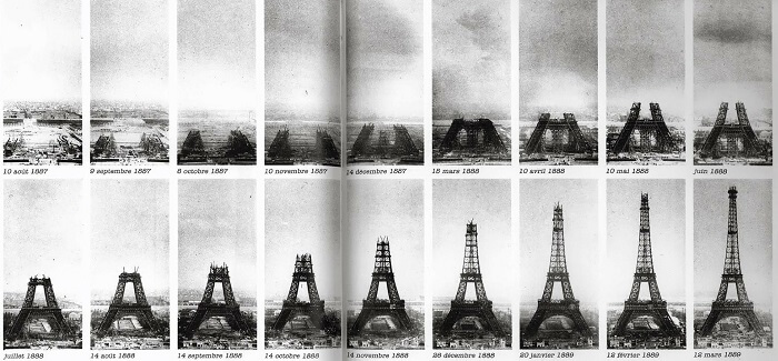 interesting fact about the Eiffel tower